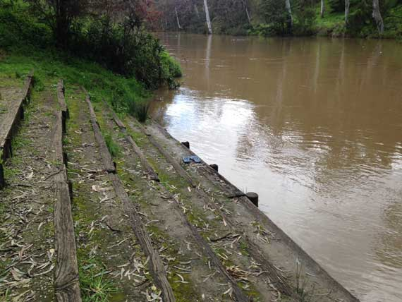 1 m flood