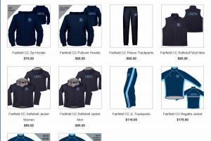 Club uniform range